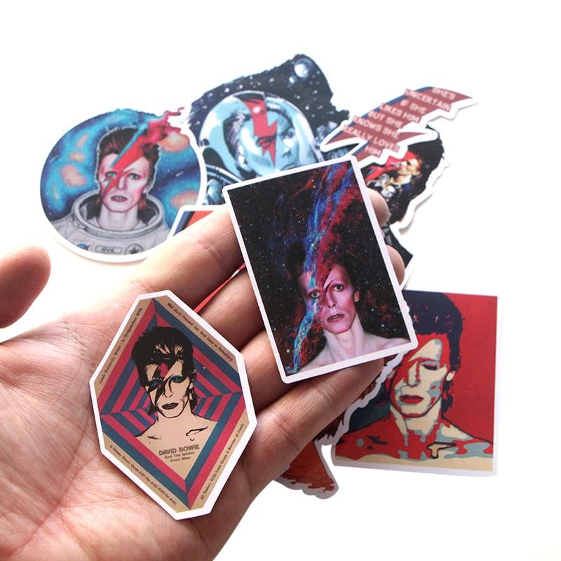 Premium Sticker Pack - Bowie Inspired (12 Pieces)