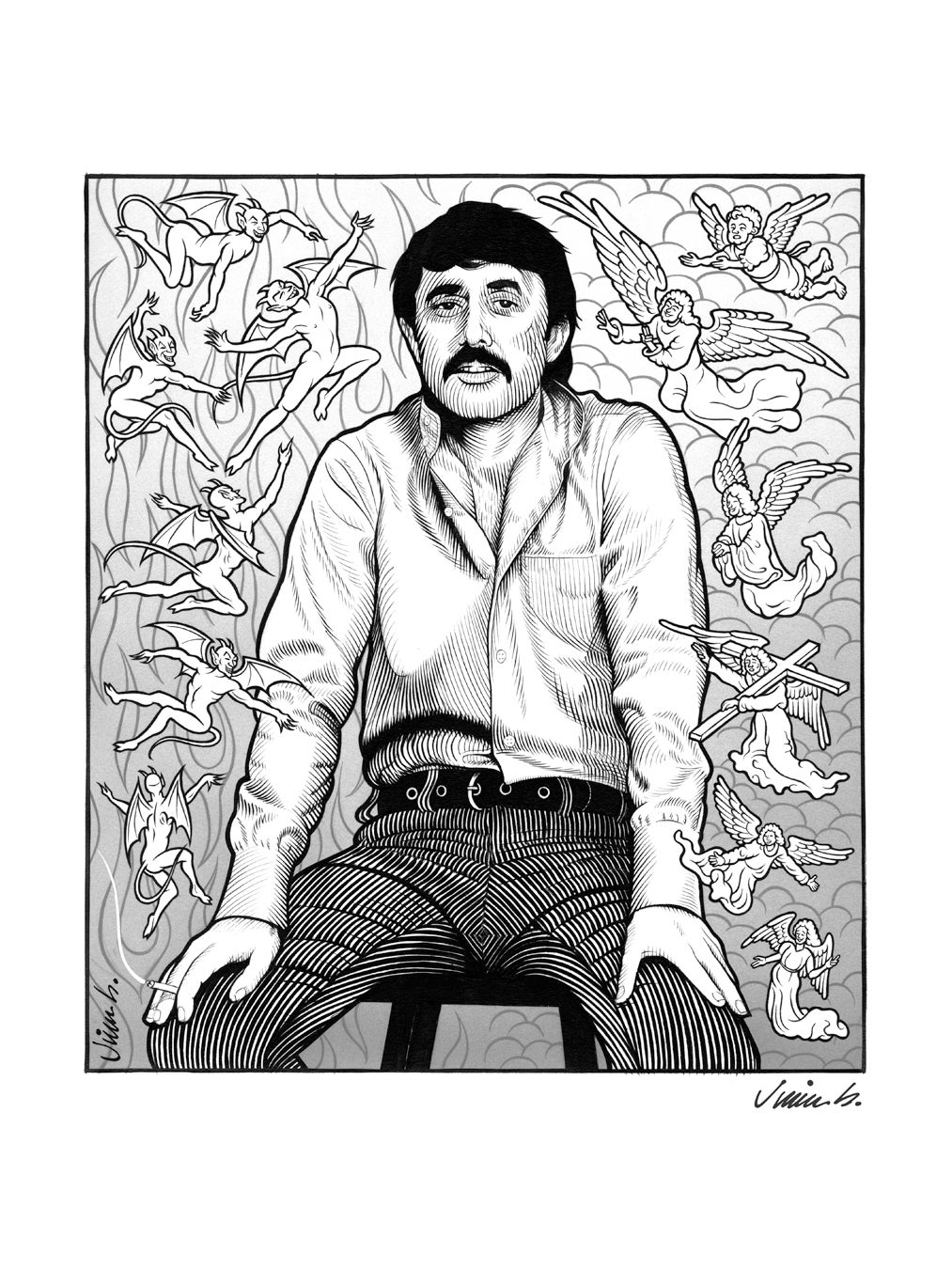 Image of LEE HAZLEWOOD poster print