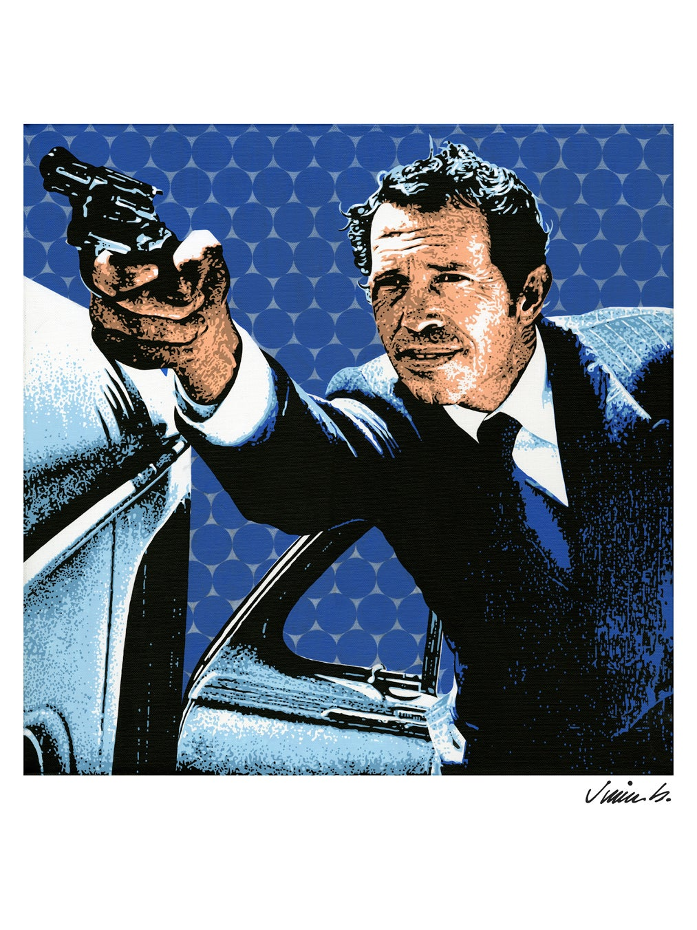 Image of WARREN OATES poster print