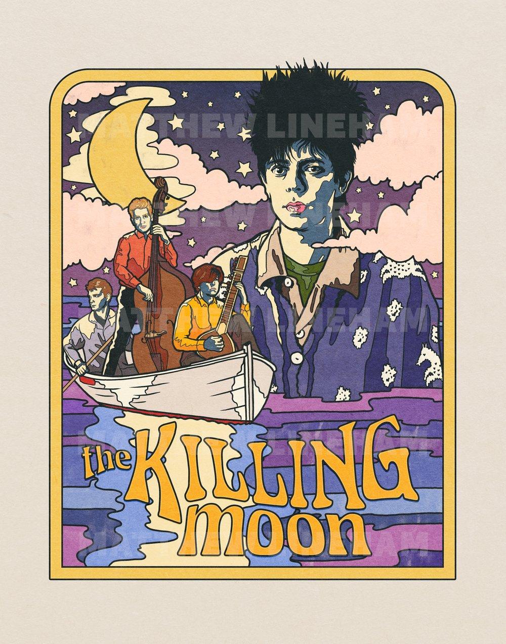 The Killing Moon Art Print