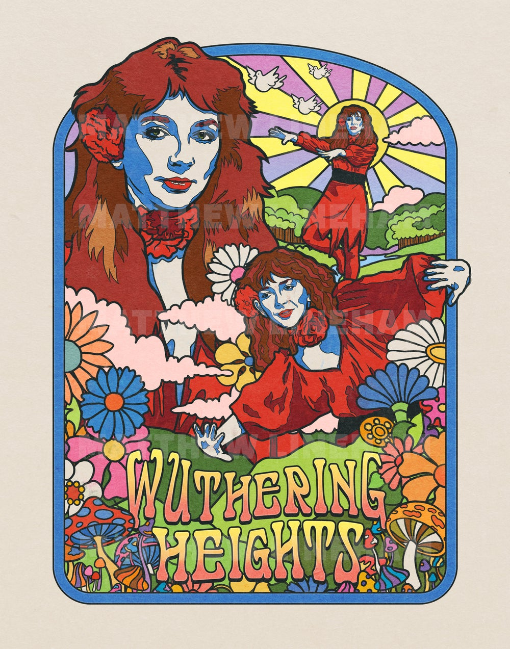 Wuthering Heights Art Print
