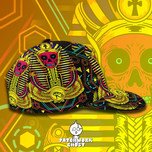 Image of The Pharoah All Over Print Snapback