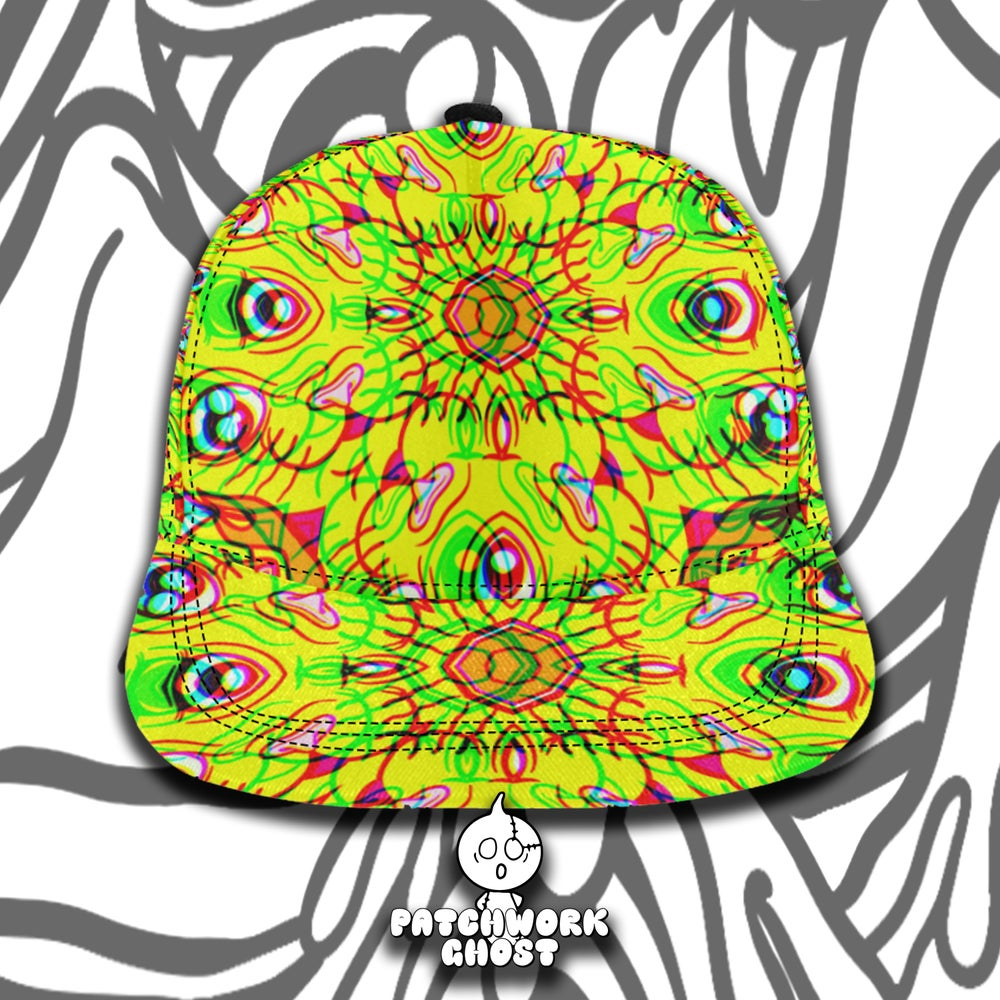 Image of Lucky Cat All Over Print Snapback