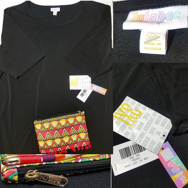 "Image of LuLaRoe Gigi And Nuskin ""Pardon Me"" Pouch Bundle"