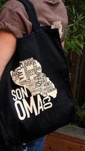Image of Sonoma Co- Black tote bag