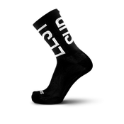 Image of FINGERSCROSSED x suplest TYPO Socks black