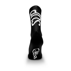 Image of FINGERSCROSSED x suplest TYPO Socks black