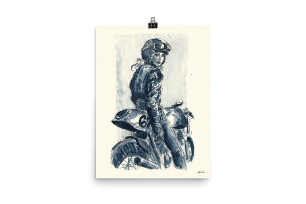 Image of Lady Rider 170129 | Art Print