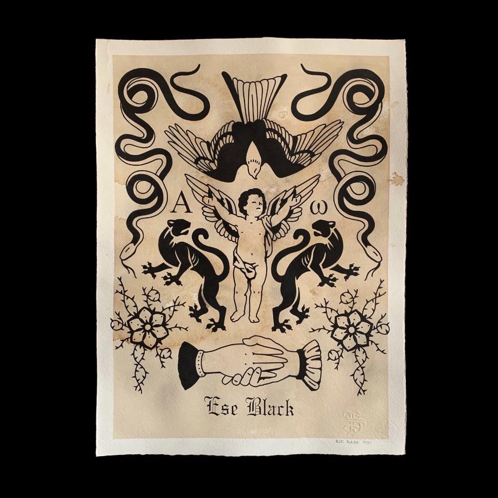 Image of PANDEMIC DEAL Original a tinta china