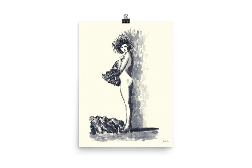 Image of Dancer Undressing 171220 | Art Print