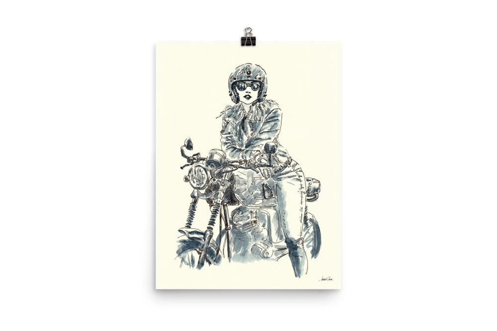 Image of Lady Rider 200625 | Art Print