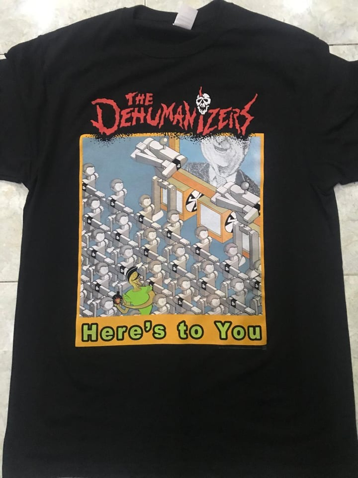 Image of The Dehumanizers (Black Shirt)