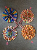 African Fabric Fans