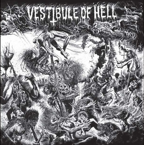 Image of VARIOUS - Vestibule Of Hell LP