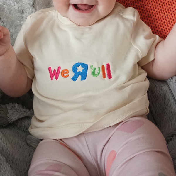 Image of We R 'Ull Baby Tee *PREORDER*