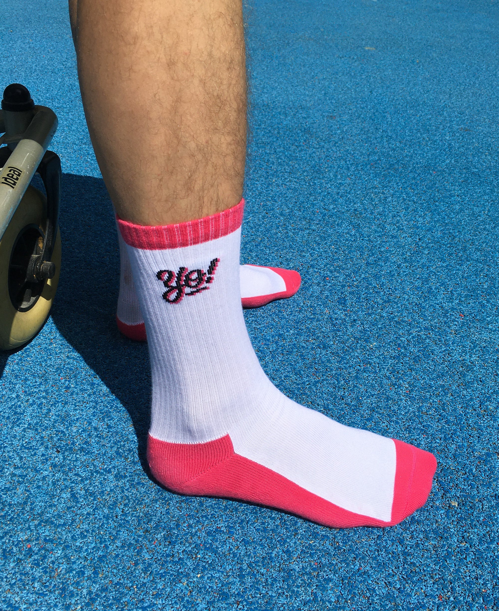 Image of yo! neon socks