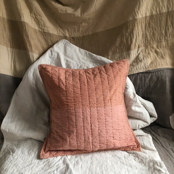 Image of Cutch Duo quilted cushion