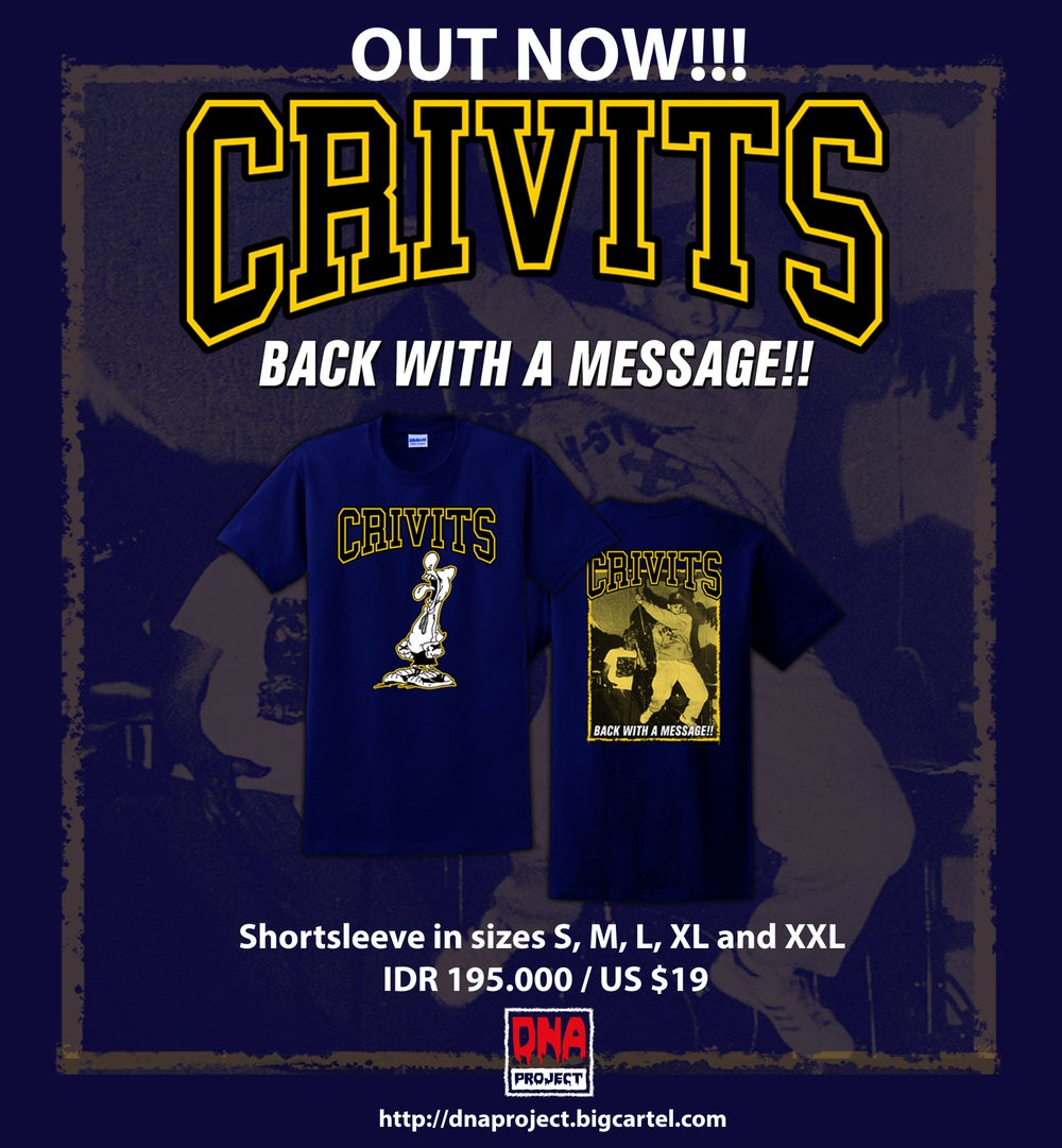 Image of CRIVITS - Back With a Message!!