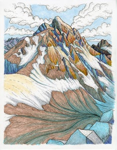 "Image of ""Middle and Grand Teton"" PRINT"