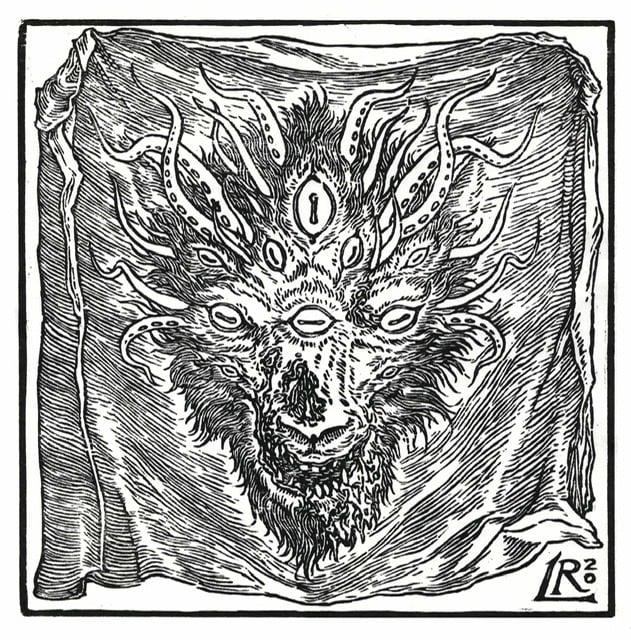 """Image of """"Sudarium"""" Woodcut"""