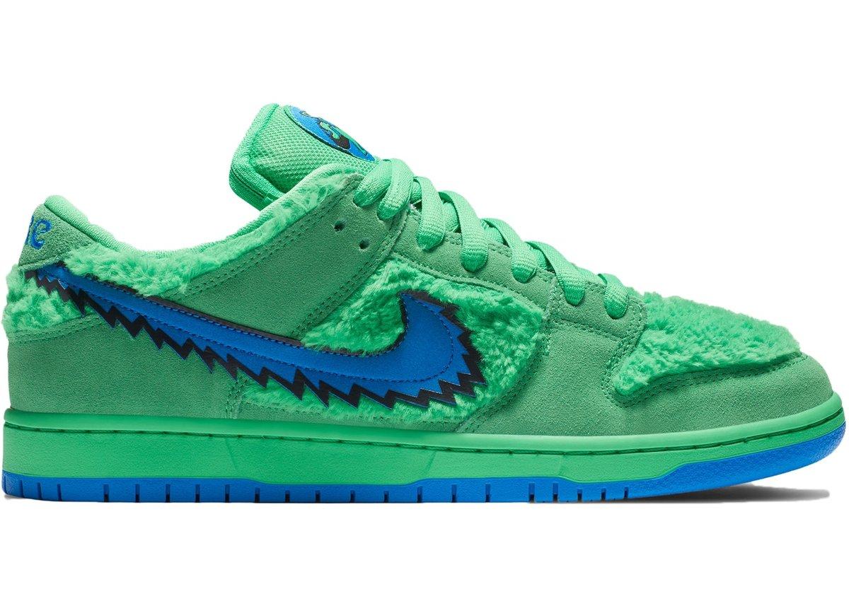 Image of Nike SB Dunk Low Grateful Dead Bears Green