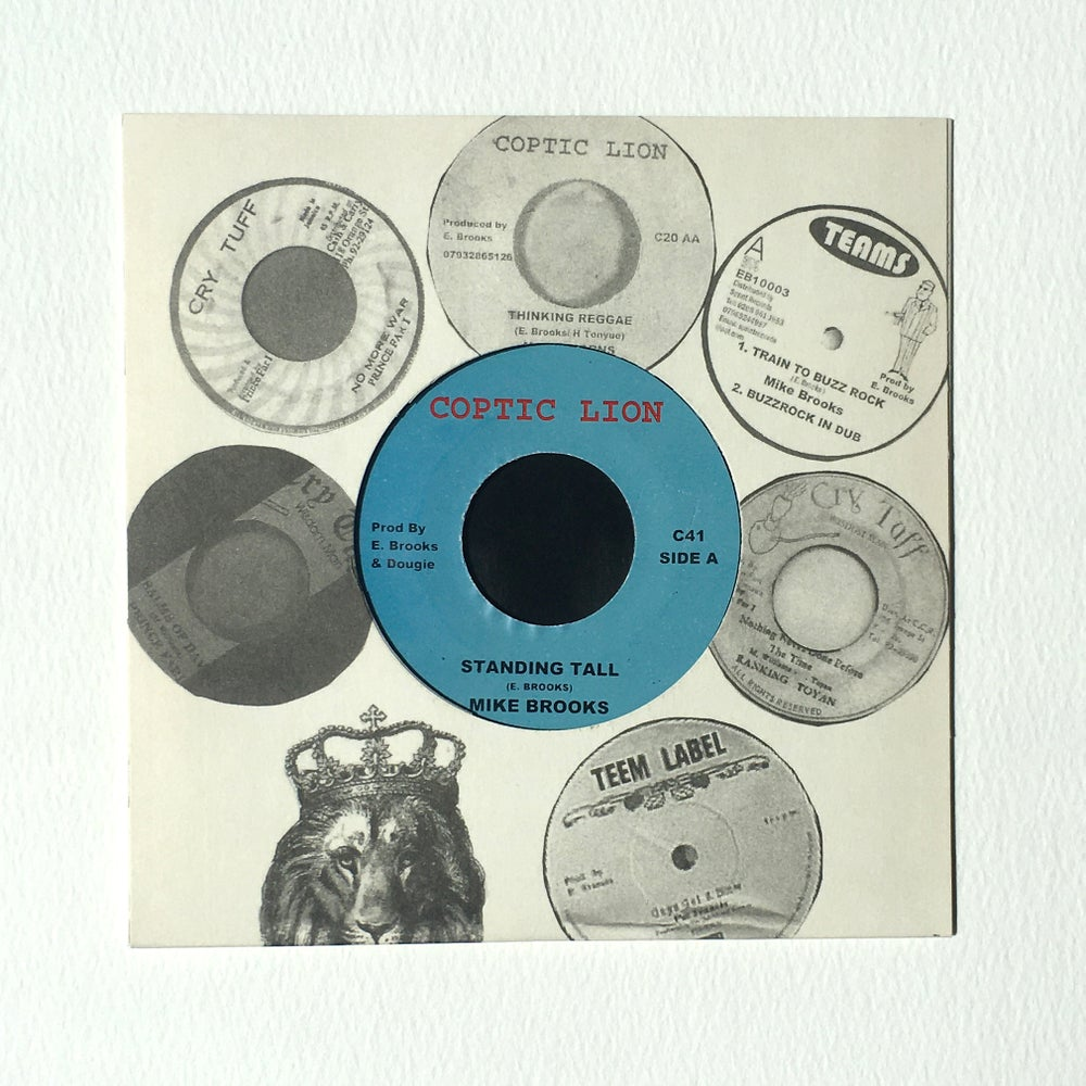 Image of MIKE BROOKS - STANDING TALL 7""