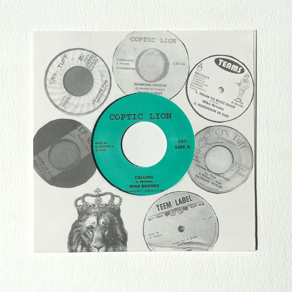 Image of MIKE BROOKS - CALLING 7""