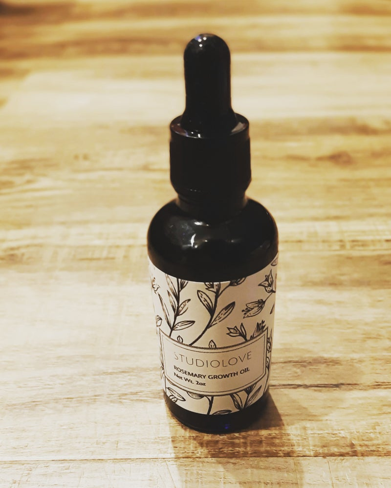 Image of StudioLove  Rosemary Growth Oil  2oz