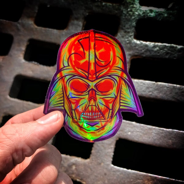 Image of Thermalside Vader sticker