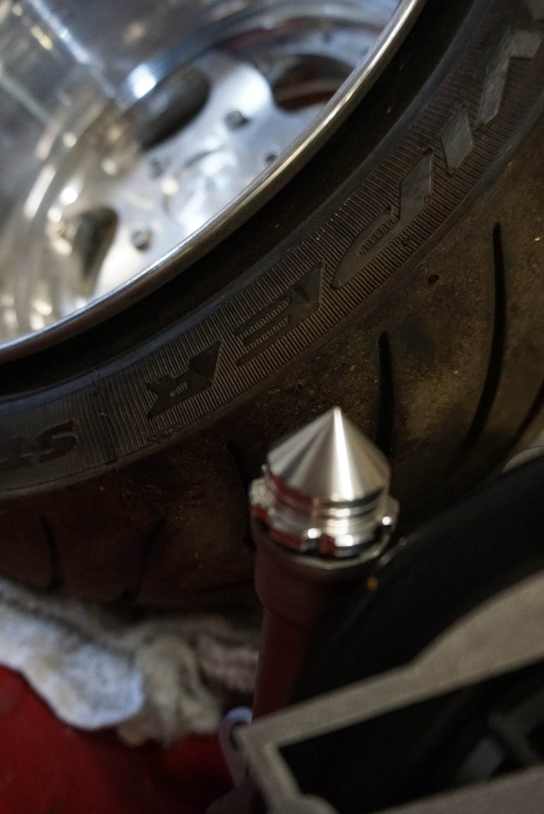 """FLP - Spike Oil Cap """"fits GET stock engine and GY6 """""""