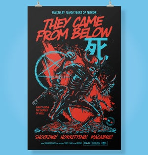 Image of They Came From Below Poster