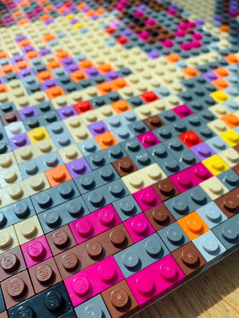'Kurt in Brick' Lego Art by Grifshead