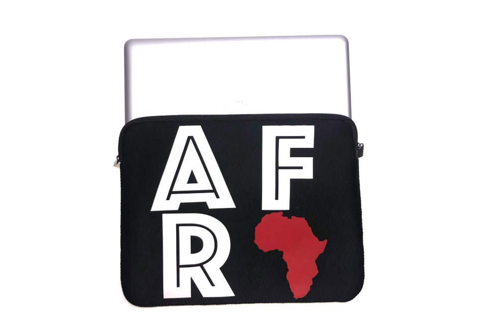 "Image of World Tour ""Africa"" Laptop Case Black"
