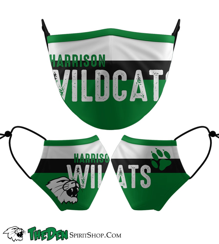 Image of  Wildcats Text Face Mask **PRESALE**