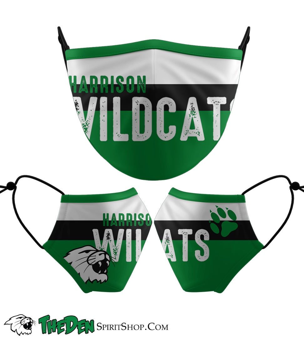 Image of  Wildcats Text Face Mask