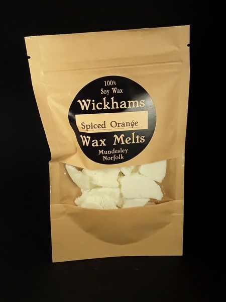 Image of Spiced Orange Wax Melt Bag (Vegan/GM free)