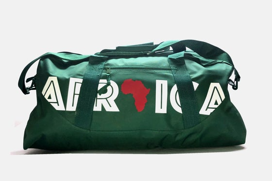 "Image of World Tour ""Africa"" Duffel Bag Forest 27"""