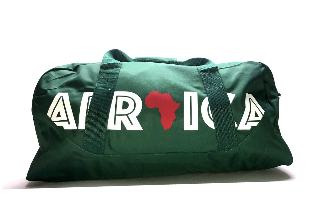 """Image of World Tour """"Africa"""" Duffel Bag Forest 27"""""""