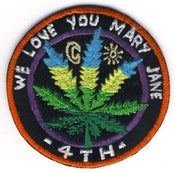 Image of 'We Love You Mary Jane' Patch