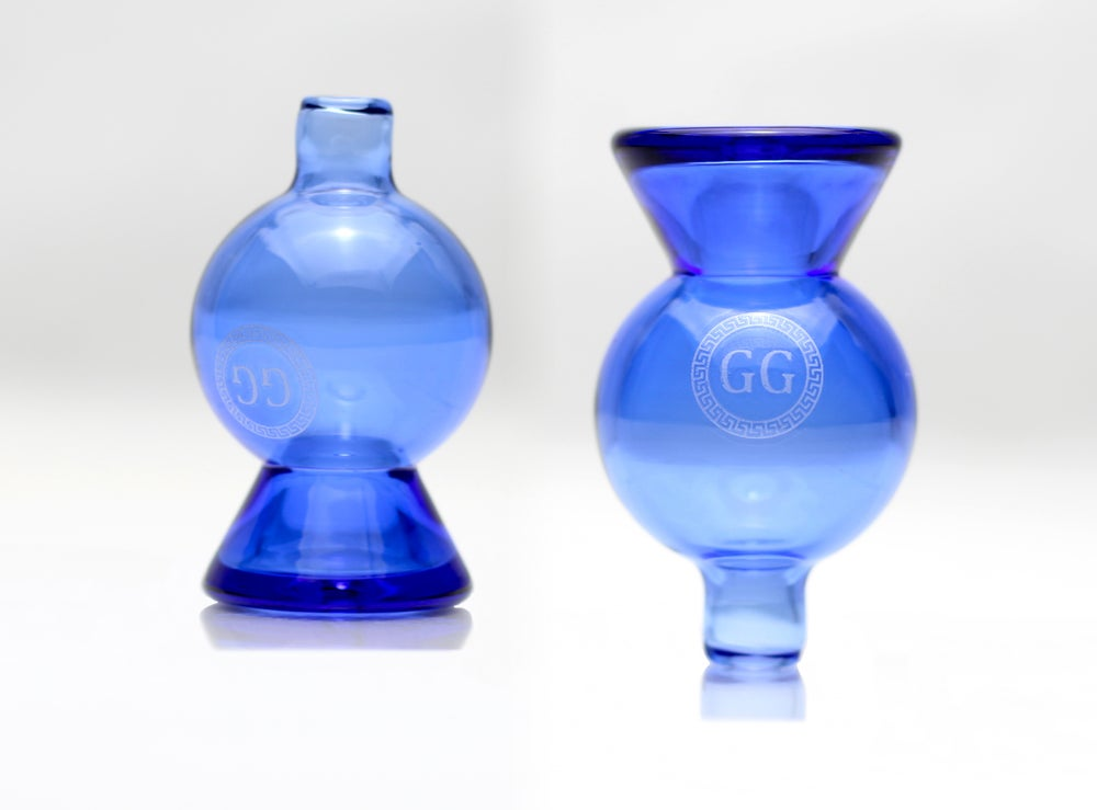 Image of GG Blue Bubble Cap