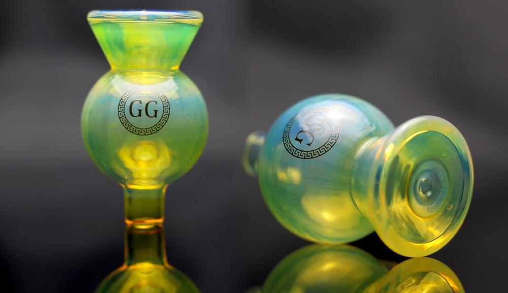 Image of GG Silver Fume Bubble Cap