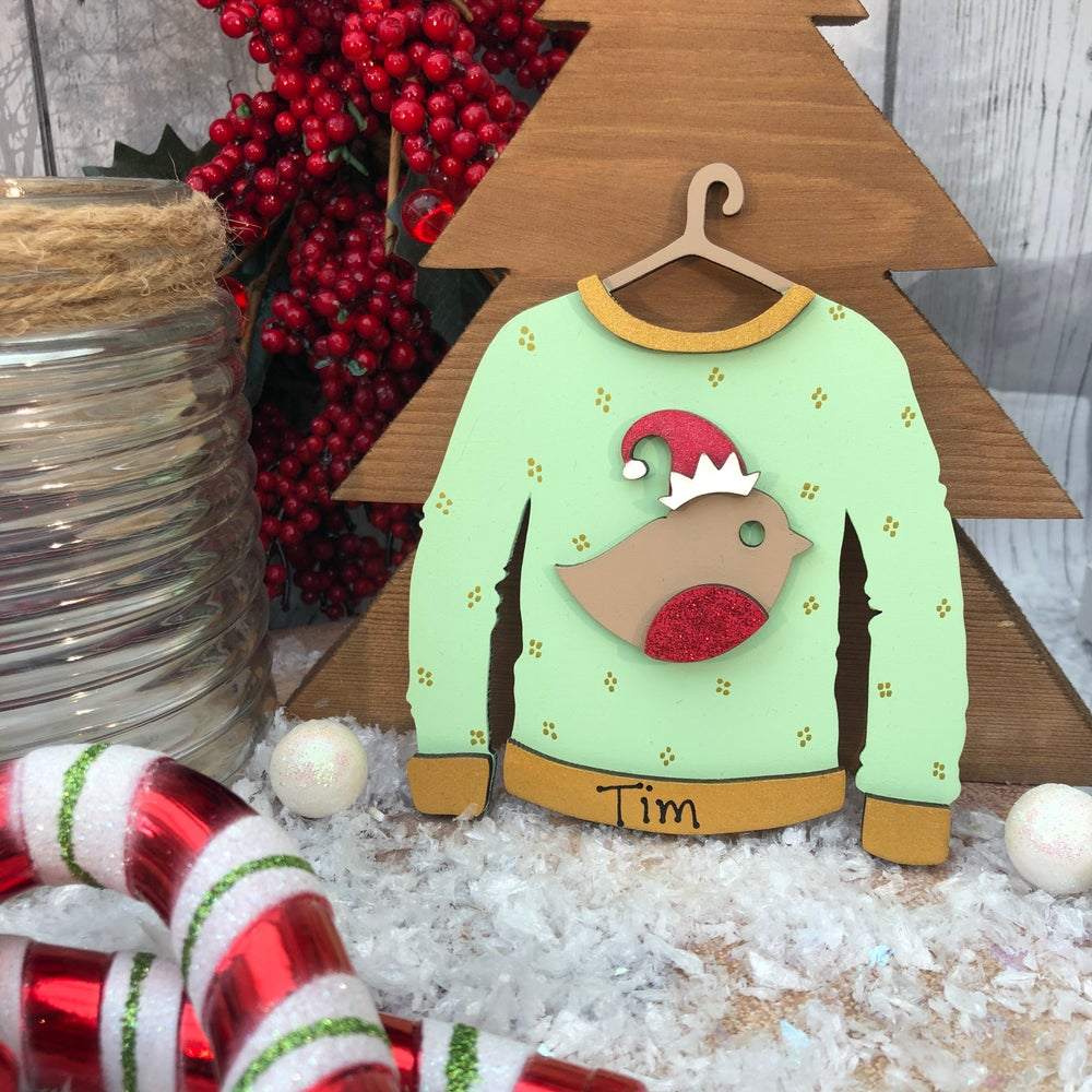 Image of Robin Christmas Jumper