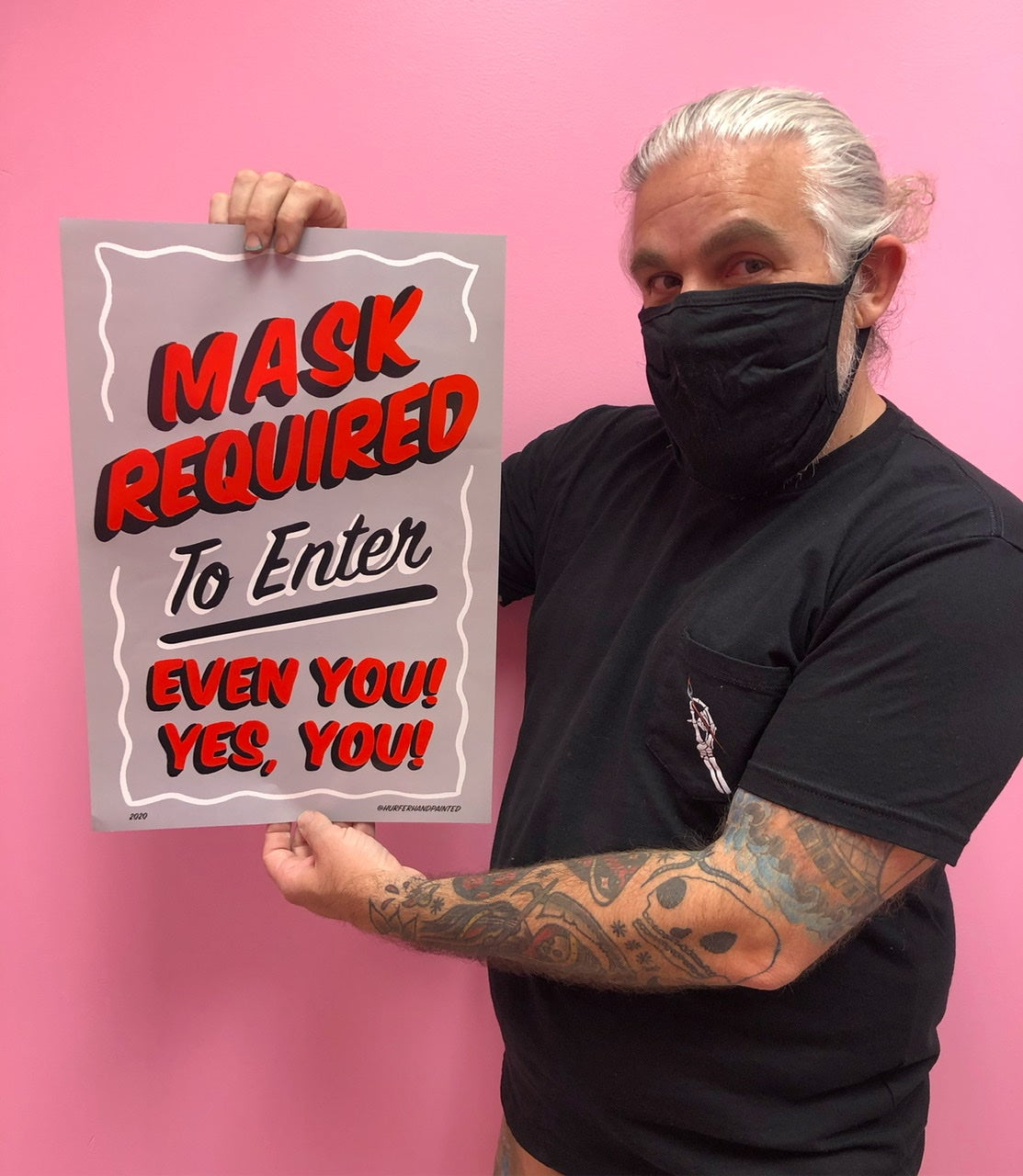 """Image of Masks Required Poster- 13x19"""""""