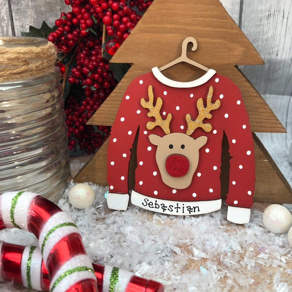 Image of Rudolph Christmas Jumper