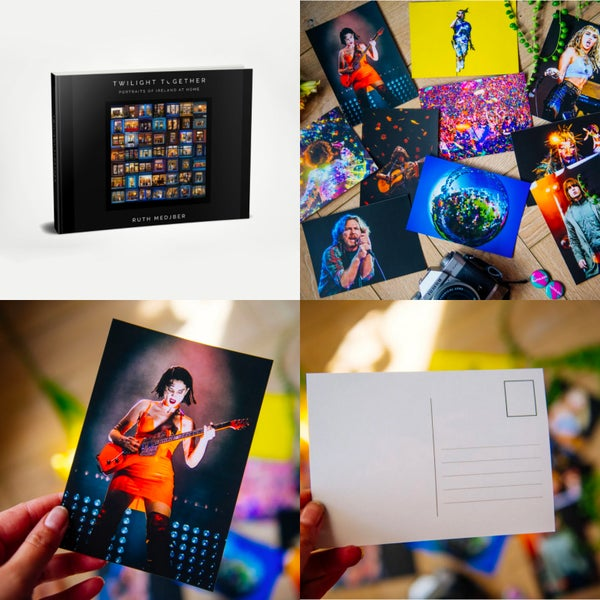 Image of  Book + Music Photography Postcards