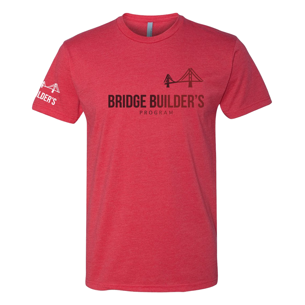 Image of THE BRIDGE BUILDER (RUBY RED)