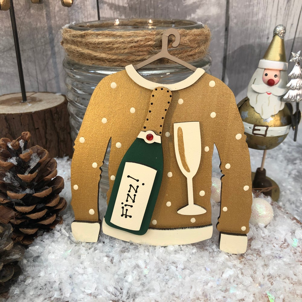 Image of Champers Christmas Jumper