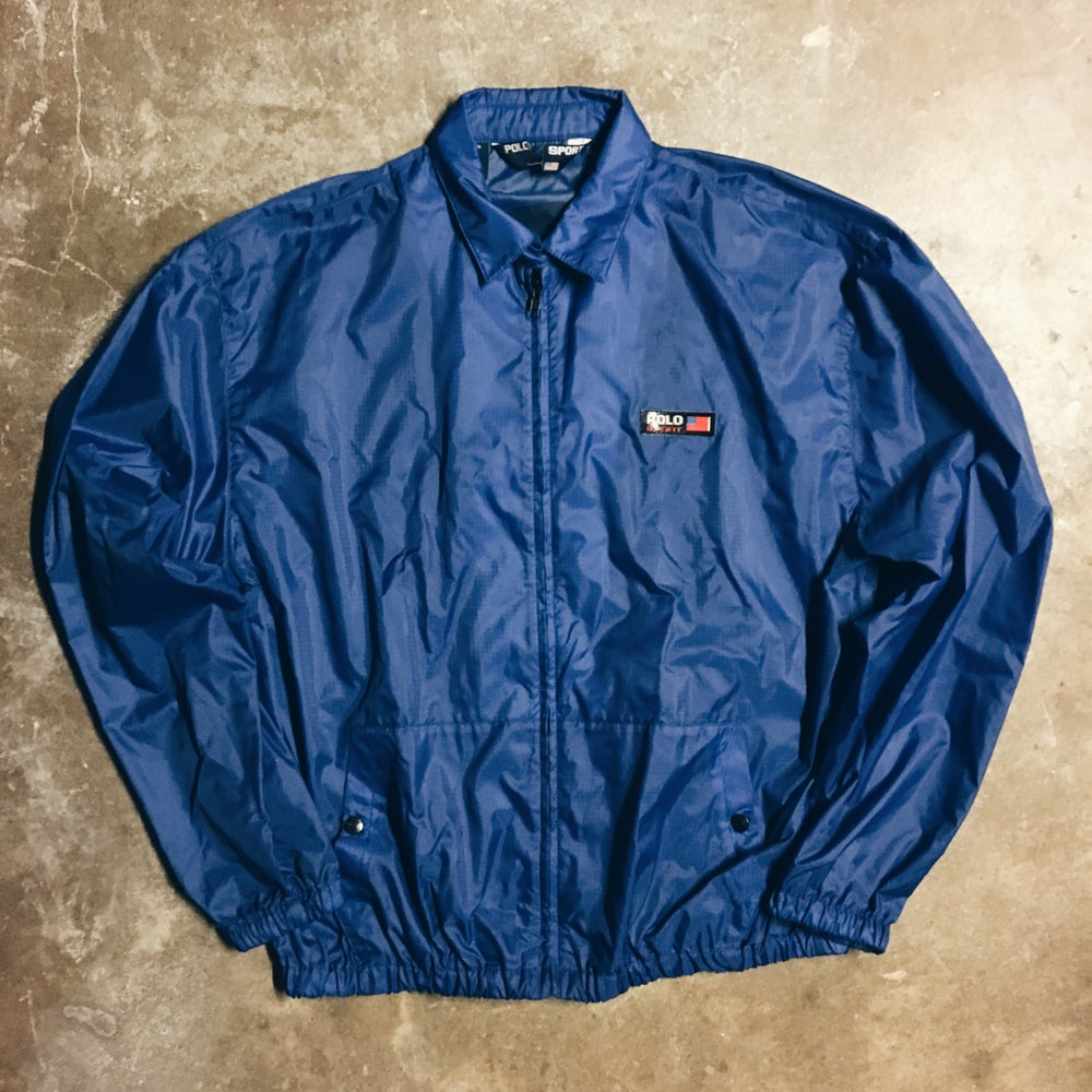 Image of Original 90's Polo Sport 3M Coaches Jacket.