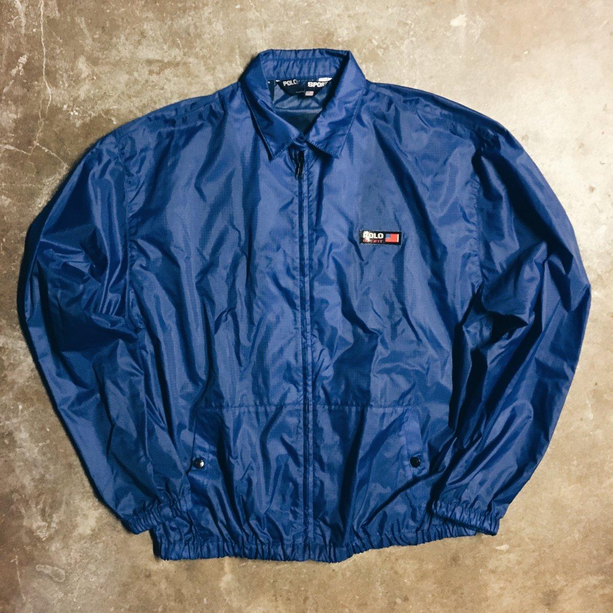 Image of Original 90's Polo Sport 3M Coaches Jacket.