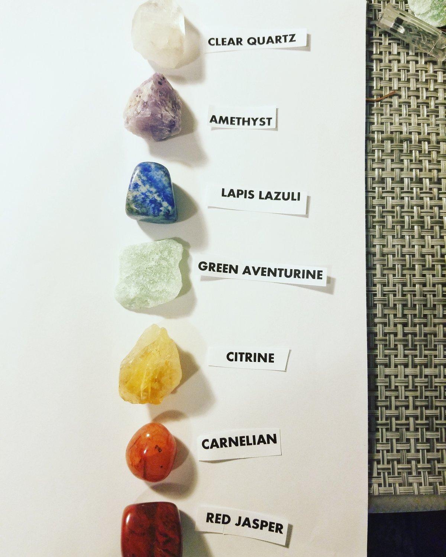 Image of 7 Chakra stones
